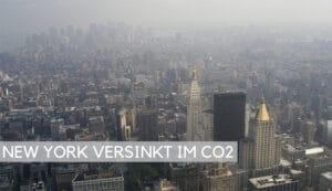 NEW YORK VERSINKT IM CO2