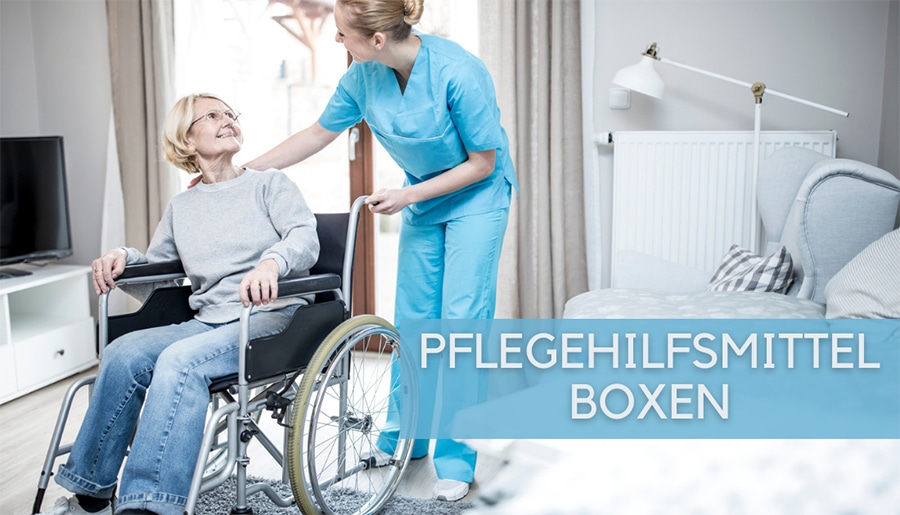PFLEGEHILFSMITTEL BOXEN